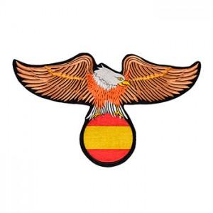 Águia com bandeira Espanha