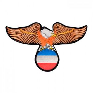 Águia com bandeira Holanda
