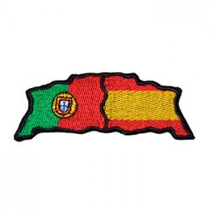 Bandeira Portugal Espanha