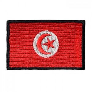 Emblemas Locais Bandeira Tunísia