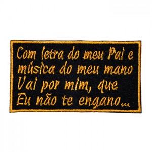 Com letra do meu pai e música do meu mano Vai por mim, que Eu não te engano…