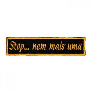 Stop… nem mais uma