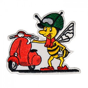 Vespa com abelha