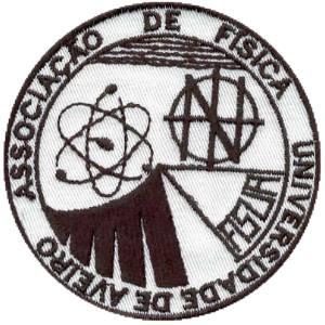 emblema associação física da universidade aveiro