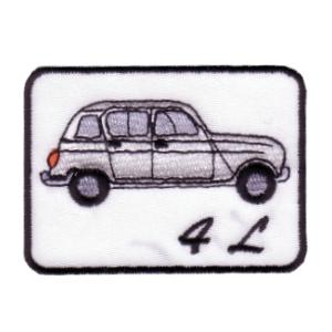 emblema carro 4L Branco.def