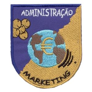 emblema curso administração e markting