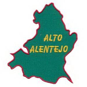 mapa do alto alentejo Emblema Região Mapa1 Alto Alentejo   Lousãtextil   Bordados e  mapa do alto alentejo