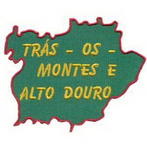 mapa de portugal tras os montes Emblema Região Mapa1 Trás os Montes e Alto Douro   Lousãtextil  mapa de portugal tras os montes