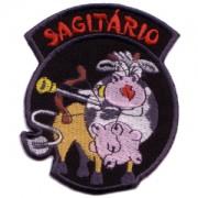 emblema signo sagitário com vaca.def