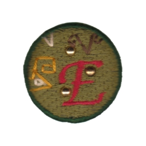 Emblema Living pregadeira E