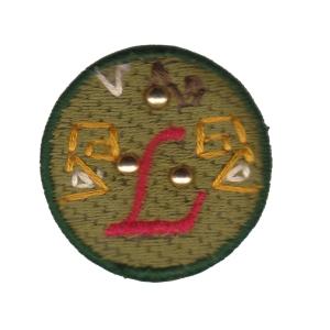 Emblema Living pregadeira L