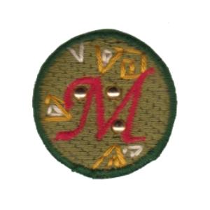 Emblema Living pregadeira M