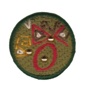 Emblema Living pregadeira O