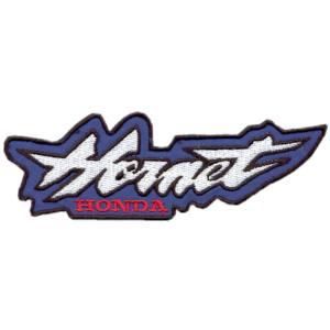 Emblema Motard Modelo Honda Hornet Azul