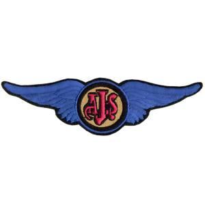 Emblemas Motard Marca AJS Asa Gr.