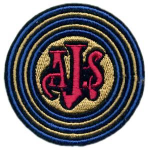 Emblemas Motard Marca AJS circular
