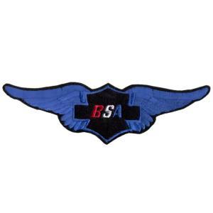 Emblemas Motard Marca BSA Asa Gr.