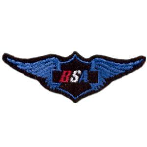Emblemas Motard Marca BSA Asa peq.