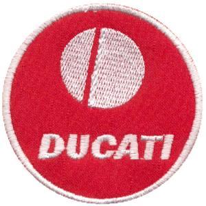 Emblemas Motard Marca Ducati Circular