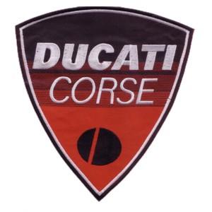 Emblemas Motard Marca Ducati Corse grande