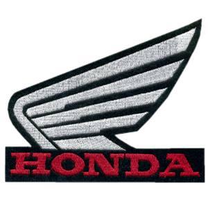 Emblemas Motard Marca Honda Logo Gr. Preto