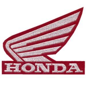Emblemas Motard Marca Honda Logo Gr. Vermelho