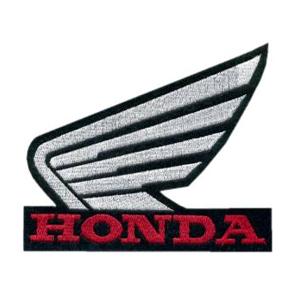 Emblemas Motard Marca Honda Logo Médio Preto