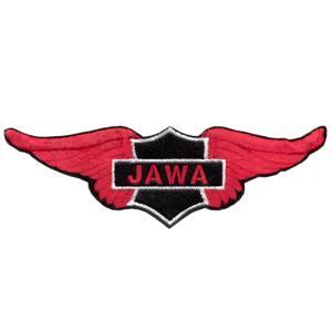 Emblemas Motard Marca Jawa Asa Peq.