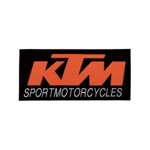 Emblemas Motard Marca KTM Peq. Laranja