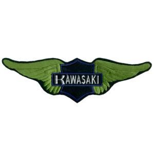 Emblemas Motard Marca Kawasaki Asa Gr.