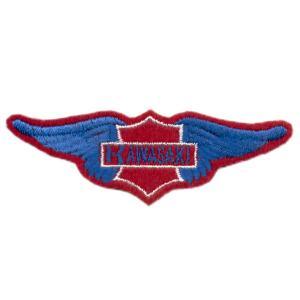 Emblemas Motard Marca Kawasaki Asa peq.