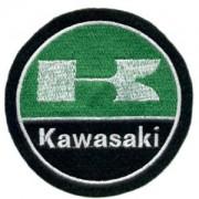 Emblemas Motard Marca Kawasaki Logo Grande