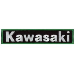 Emblemas Motard Marca Kawasaki Rect. Gr.