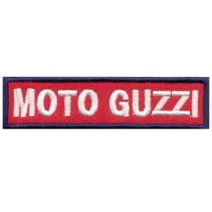 Emblemas Motard Marca Moto Guzzi Rect. Peq.