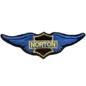 Emblemas Motard Marca Norton Asa peq.