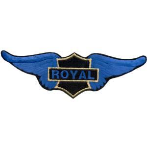 Emblemas Motard Marca Royal Asa Gr.