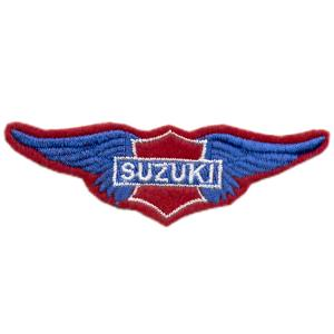 Emblemas Motard Marca Suzuki Asa peq.