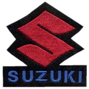 Emblemas Motard Marca Suzuki Logo Médio