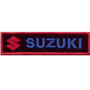 Emblemas Motard Marca Suzuki Rect. Gr.