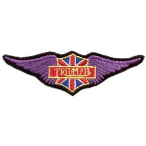 Emblemas Motard Marca Trimph Asa peq.