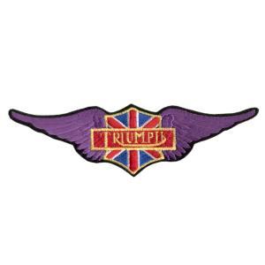 Emblemas Motard Marca Triumph Asa Gr.