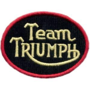 Emblemas Motard Marca Triumph Team