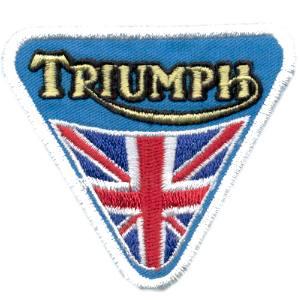 Emblemas Motard Marca Triumph Triângular