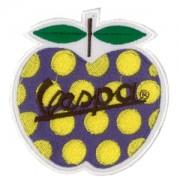 Emblemas Motard Marca Vespa maçã com pintas