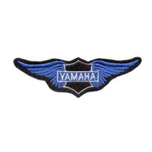 Emblemas Motard Marca Yamaha Asa peq. Azul