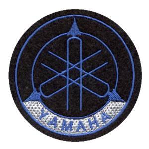 Emblemas Motard Marca Yamaha Logo Grande Azul