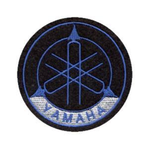 Emblemas Motard Marca Yamaha Logo Médio Azul
