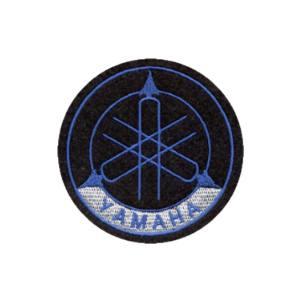 Emblemas Motard Marca Yamaha Logo Pequeno Azul