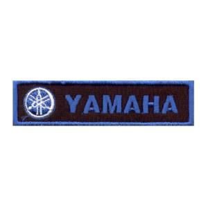 Emblemas Motard Marca Yamaha Rect. Azul