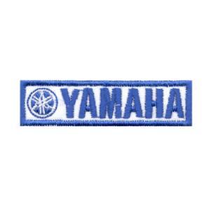 Emblemas Motard Marca Yamaha Rect. Gr. Azul